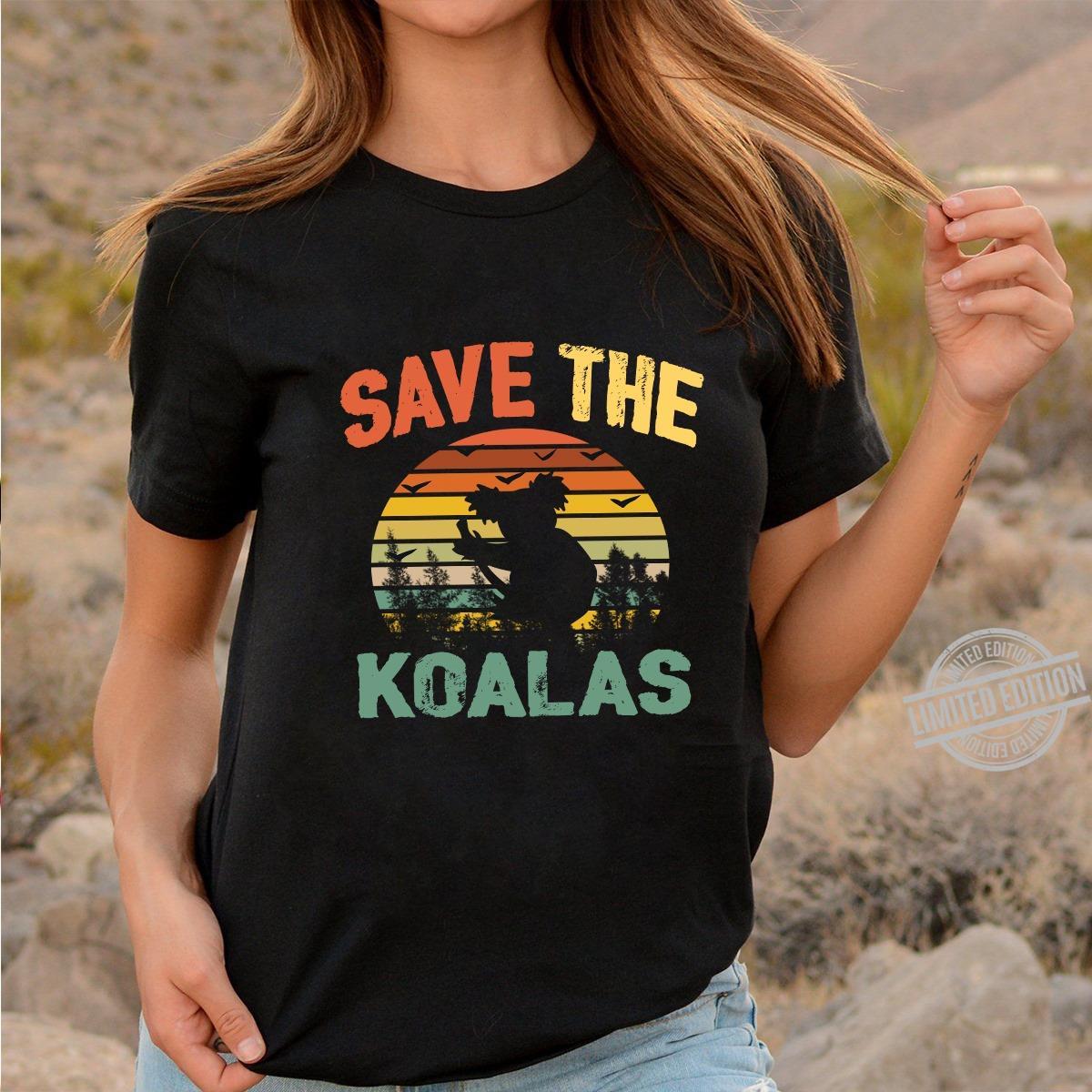 Awesome VintageSave The Koalas Shirt