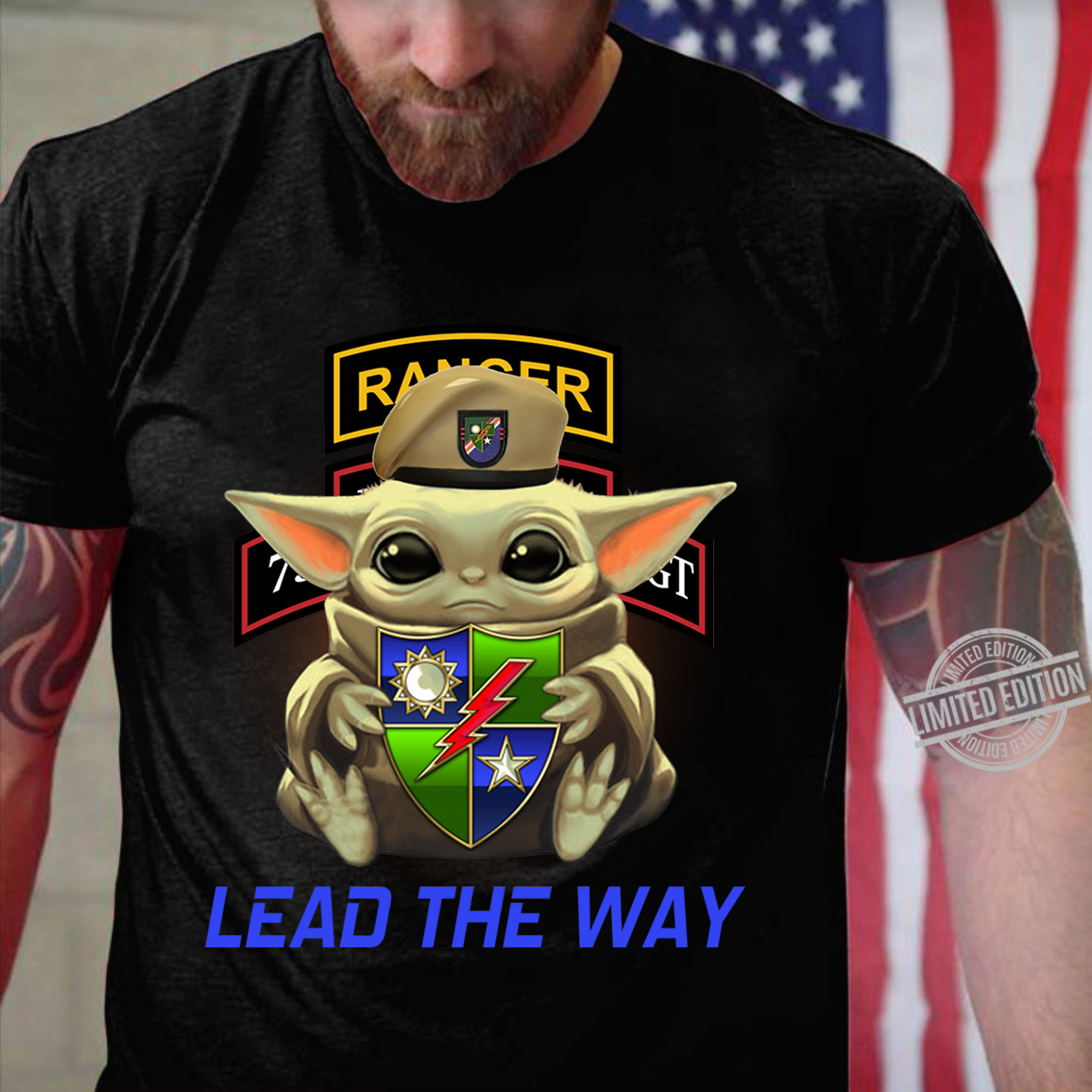 Baby Yoda Ranger Lead The Way Shirt