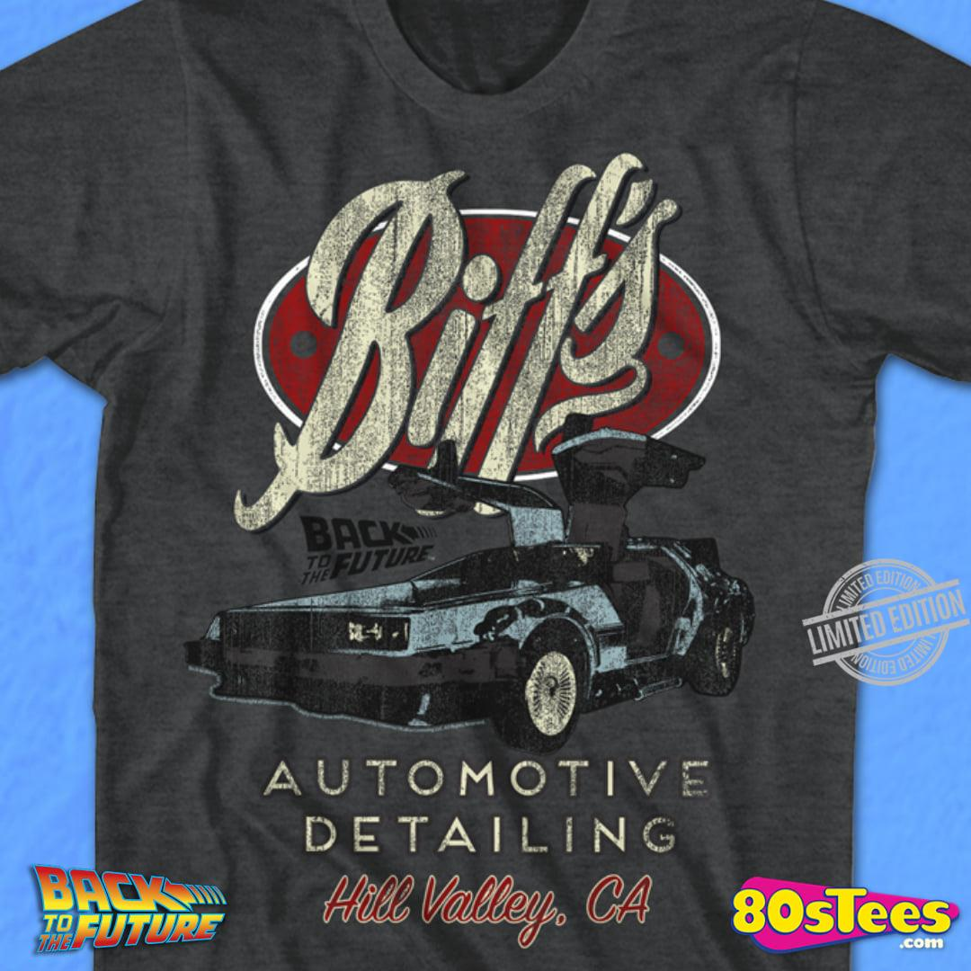 Bitt's Black To The Future Automotive Detailing Shirt