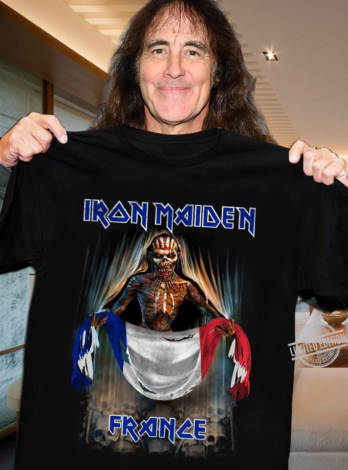 Iron Maiden France Shirt