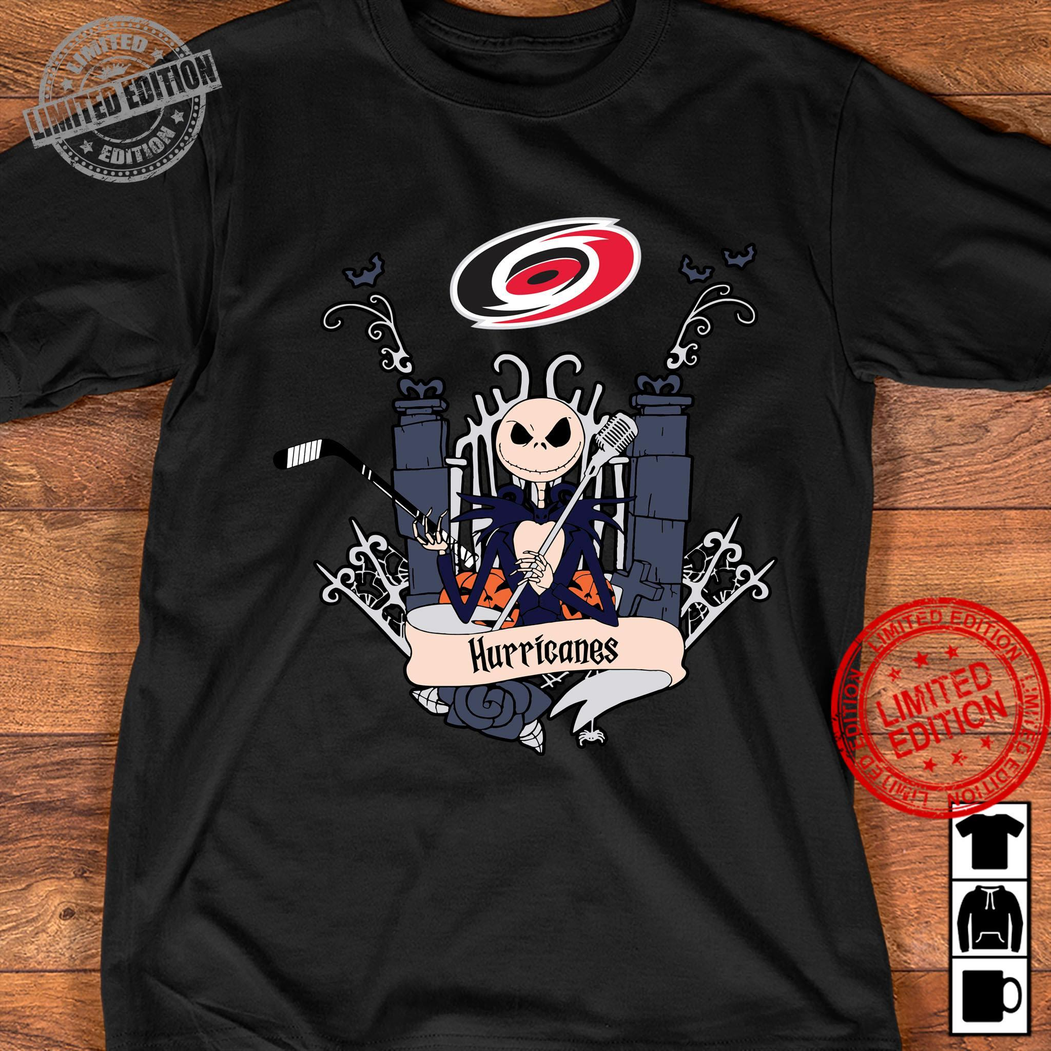 Jack Skellington Hurricanes Shirt