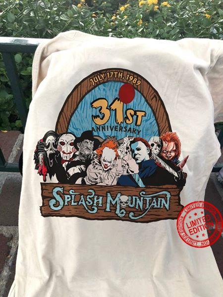 July 17th 1989 31st Anniversary Splash Muntain Shirt