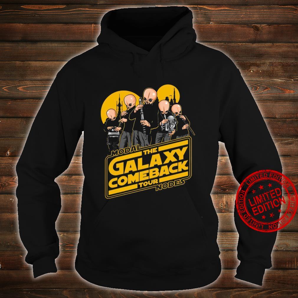 Modal The Galaxy Come Back Tour Nodes Shirt hoodie