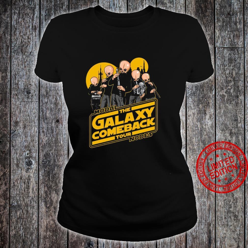 Modal The Galaxy Come Back Tour Nodes Shirt ladies tee