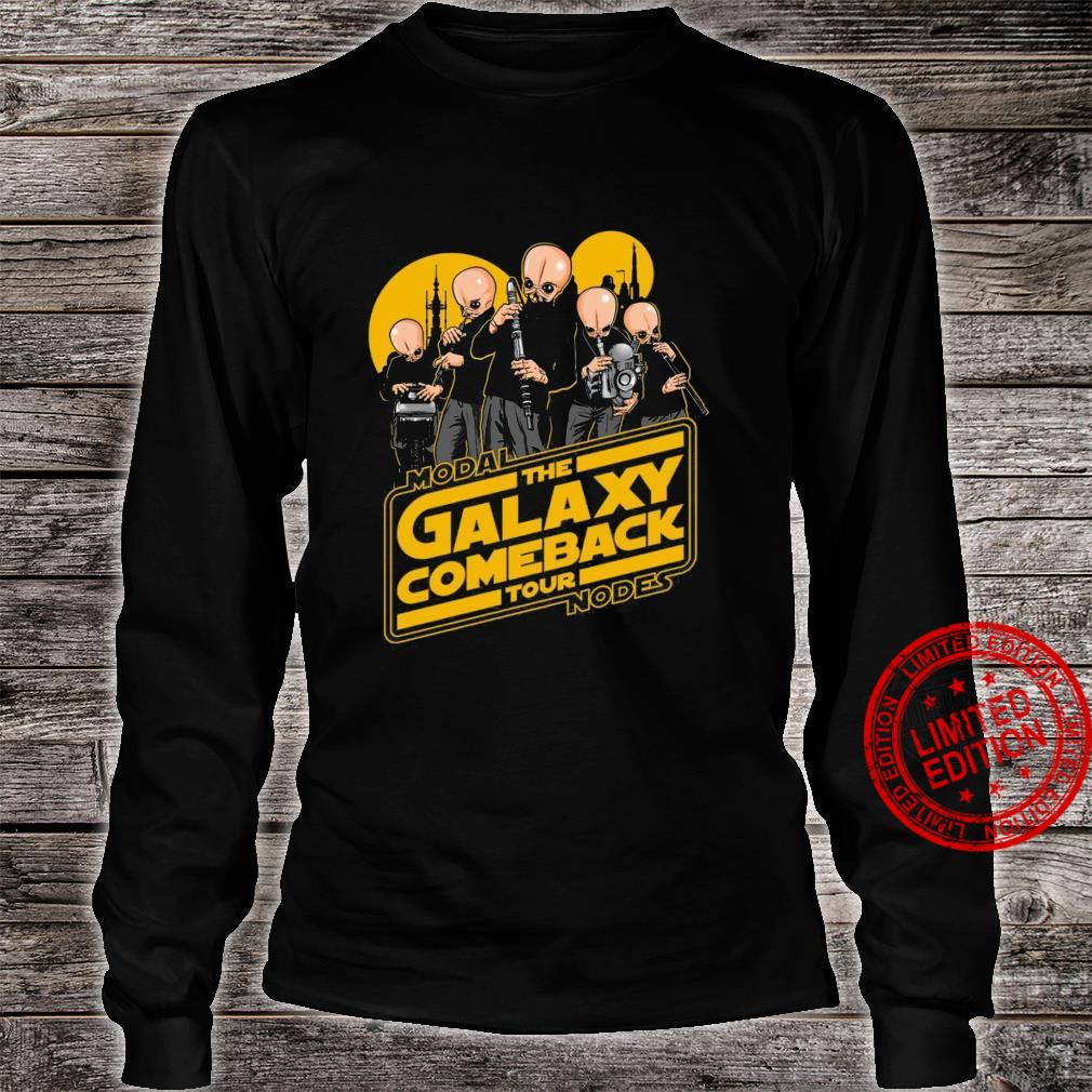 Modal The Galaxy Come Back Tour Nodes Shirt long sleeved