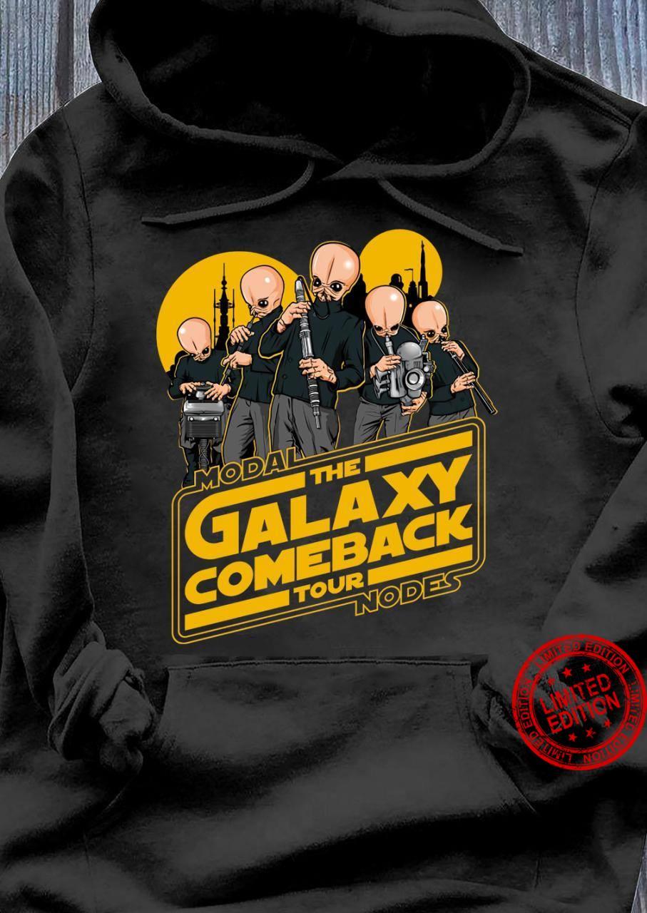 Modal The Galaxy Come Back Tour Nodes Shirt