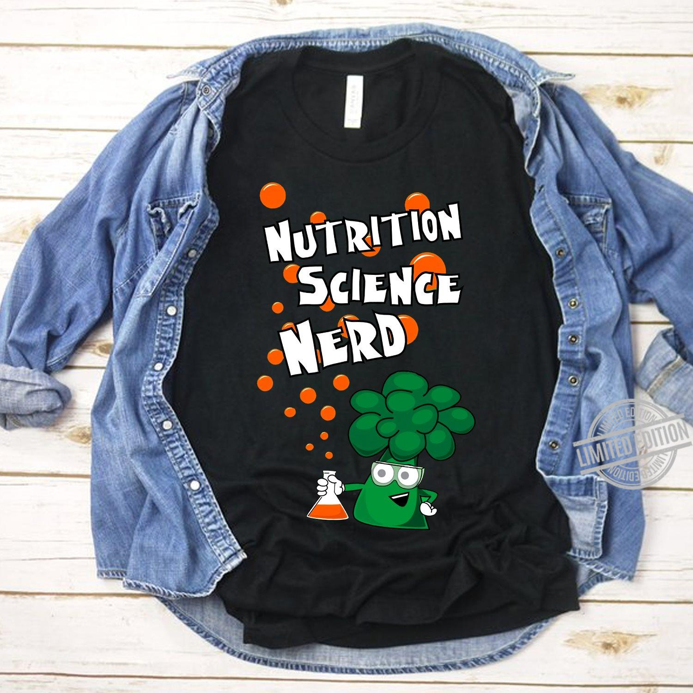 Nutrition Science Nerd Shirt