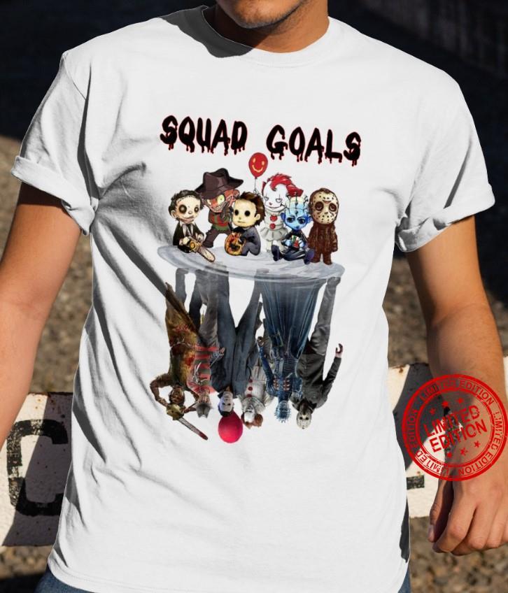 Squad Goals Horror Movies Shirt
