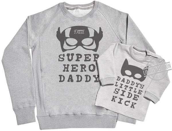 Super Hero Daddy Shirt