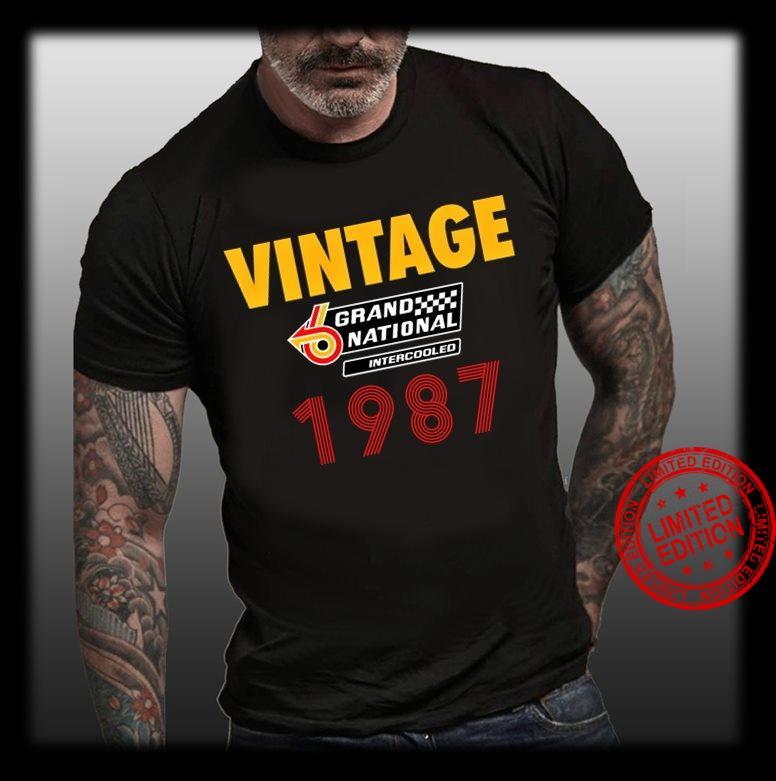 Vintage Grand National Intercooled 1987 Shirt