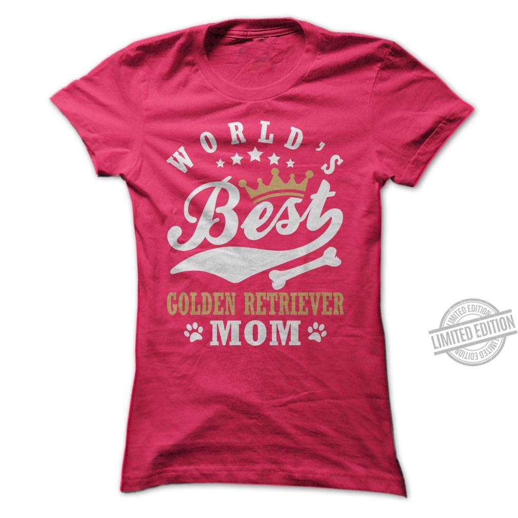 World's Best Golden Retriever Mom Shirt
